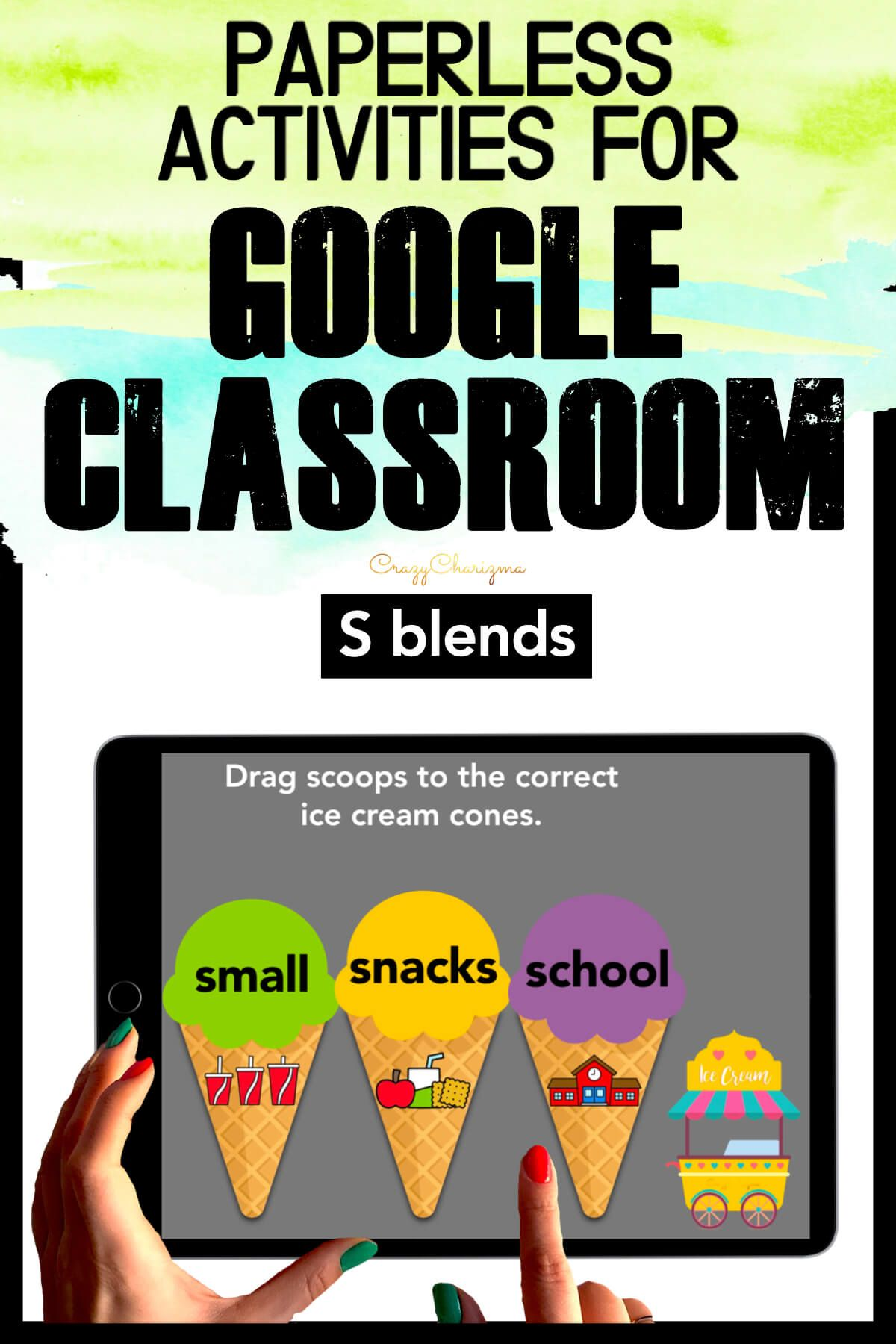 Need to practice beginning S BLENDS in a fun way? Check out these interactive activities for Google Classroom. Kids will drag words to images.