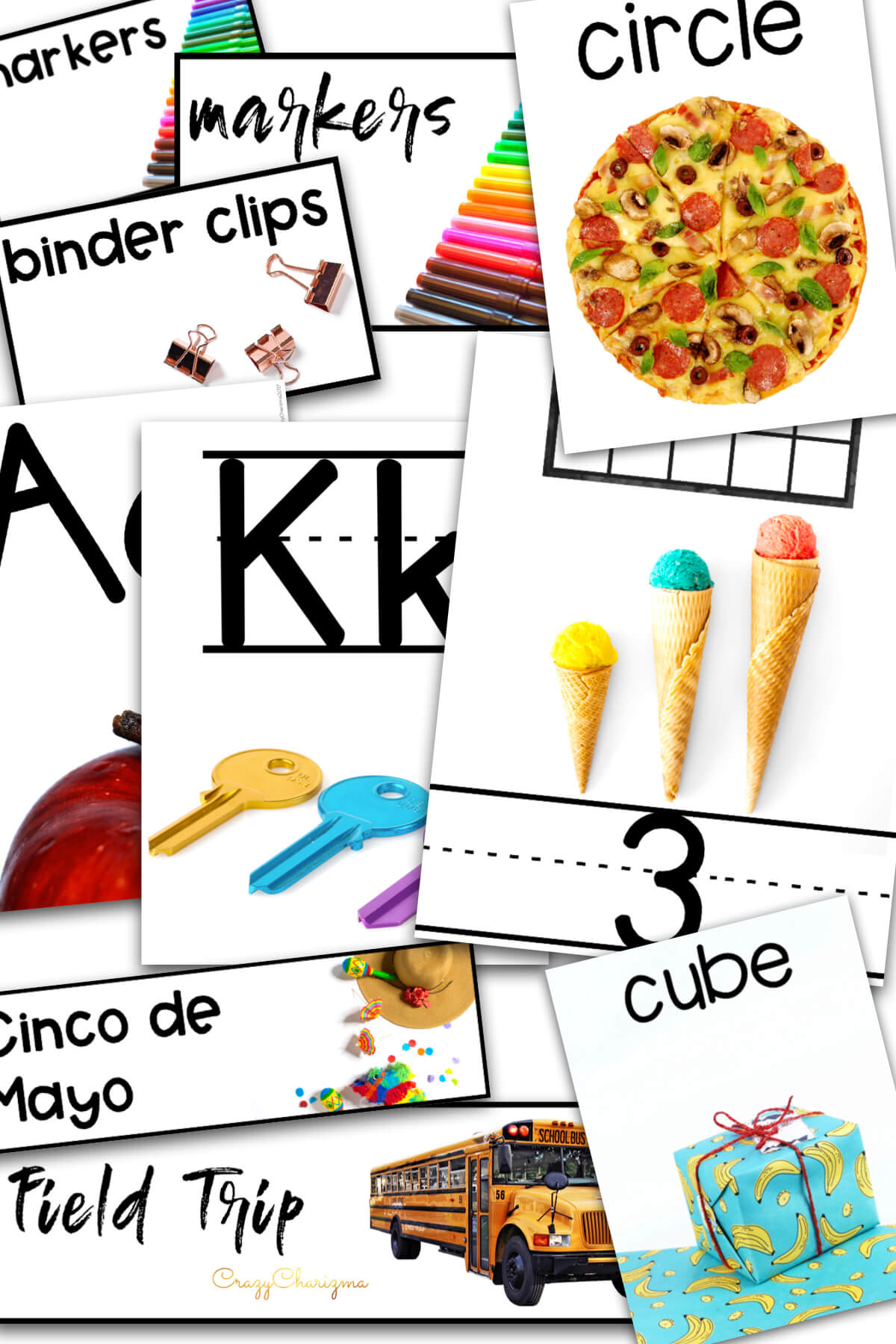 Looking for stylish classroom decor? With real photos? This huge bundle is what you need and will love! There are over 90+ pages: alphabet posters, numbers posters, supply labels, holiday labels, 2D shape posters, 3D shape posters.