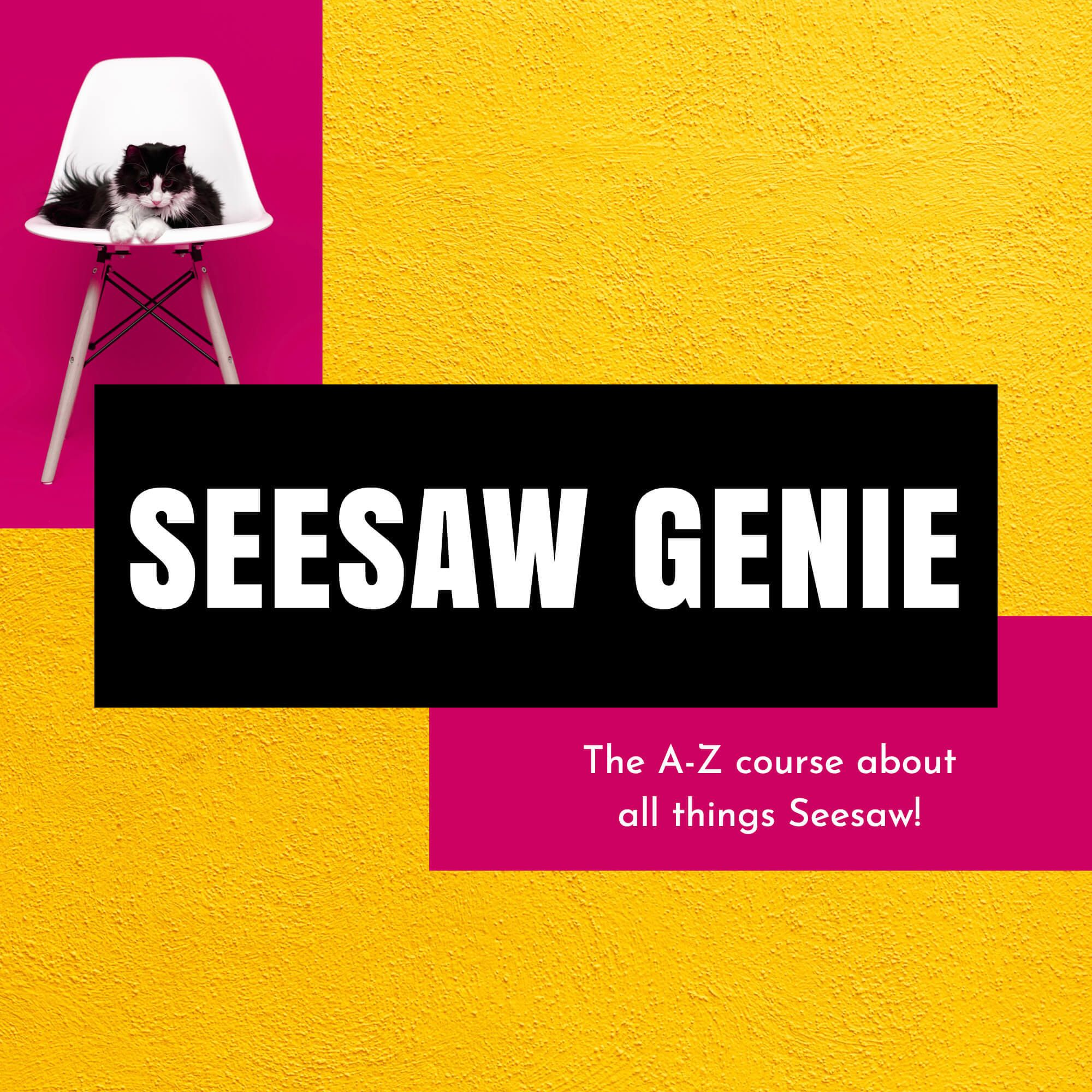Seesaw Genie: how to create Seesaw activities